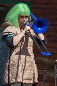 Pax spelar trombon