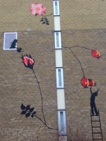 Väggmålning i Rosengård